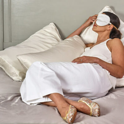 Holistic silk øjenmasker